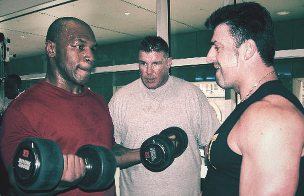 About Tyson lifting weights in his prime…
